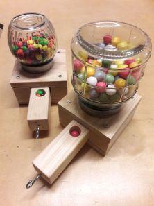 Kauwgomballenmachines