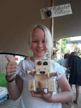 Robots timmeren